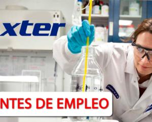 Nuevas Vacantes Con Experiencia en Baxter Healthcare