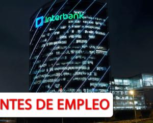 Vacantes Disponibles para Interbank