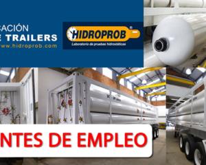 Nuevas Vacantes Con Experiencia en Hidroprob S.a.