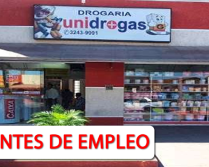 Nuevas Vacantes Con Experiencia en Unidrogas S.A